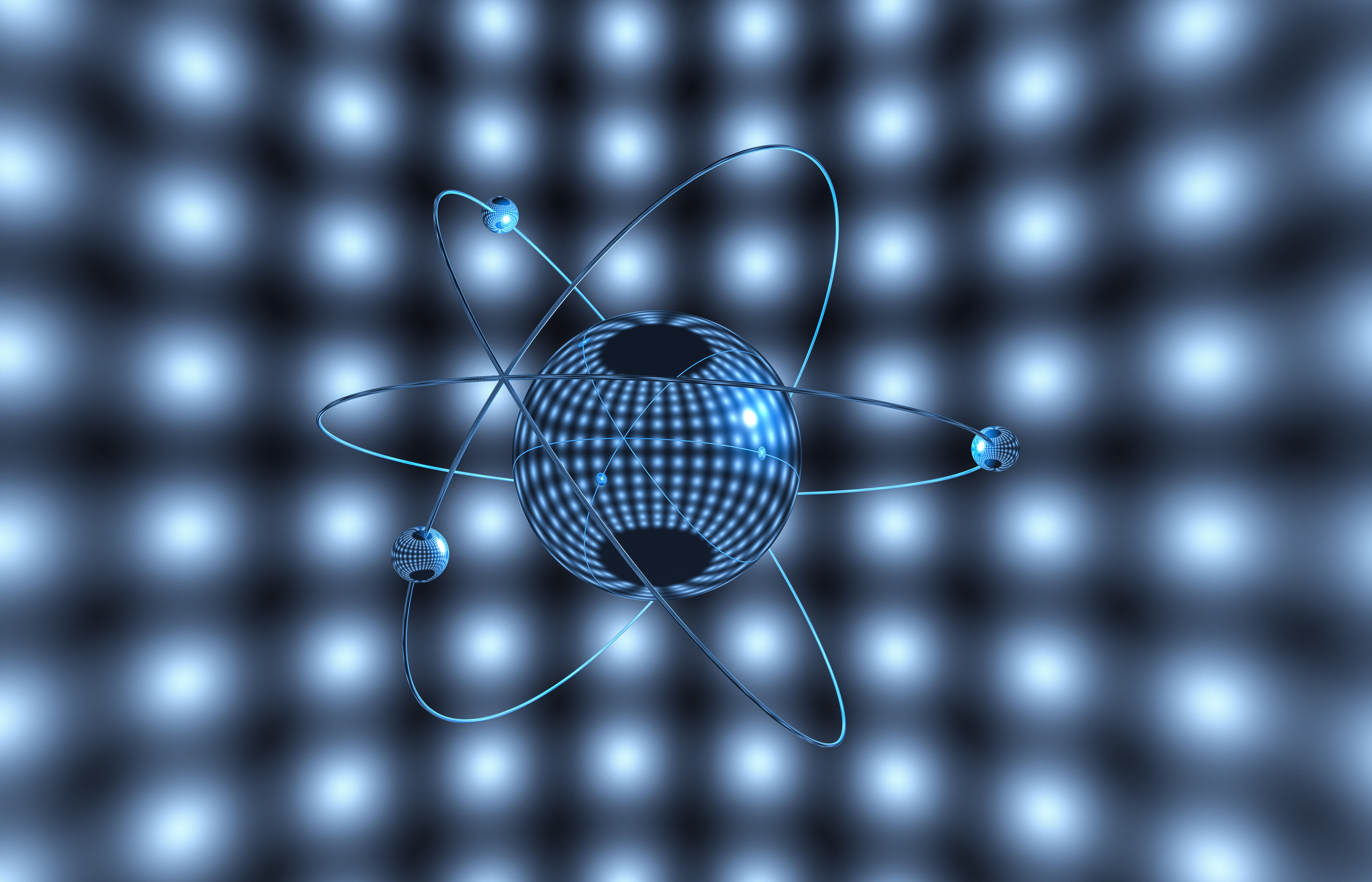 first model to use idea of subatomic particles