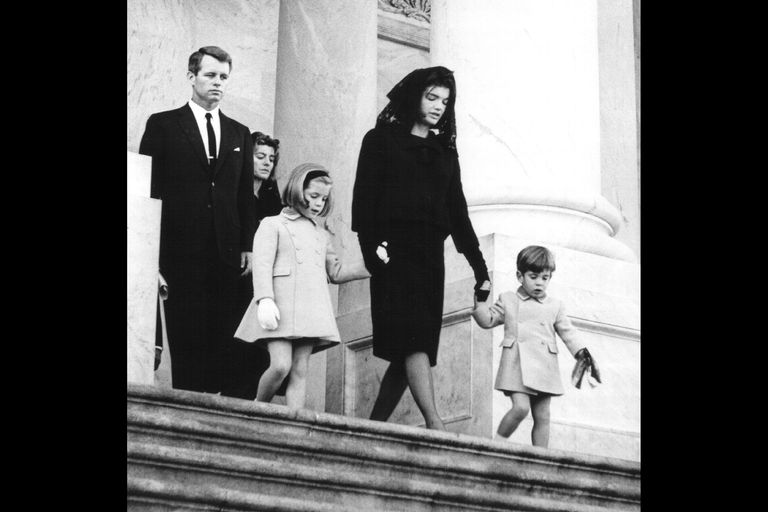 On the Steps of the Capitol Building, November 24, 1963