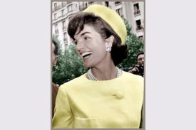 Jacqueline Kennedy during a 1961 visit to Paris