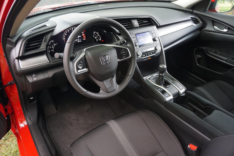 2016 Honda Civic Lx Interior