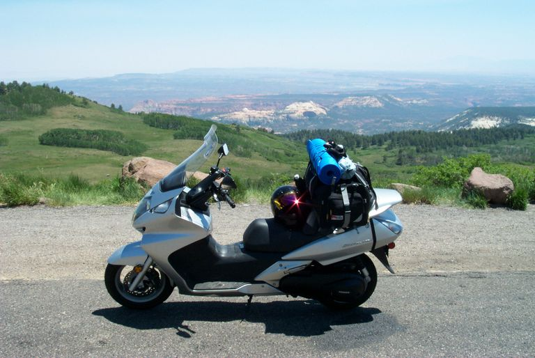 Honda Silver Wing Scooter