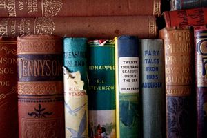 A collection of classic books.