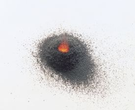 While black powder still is used for fireworks and some firearms, safer and less-smoky substitutes are common. Pyrodex is a common black powder substitute.
