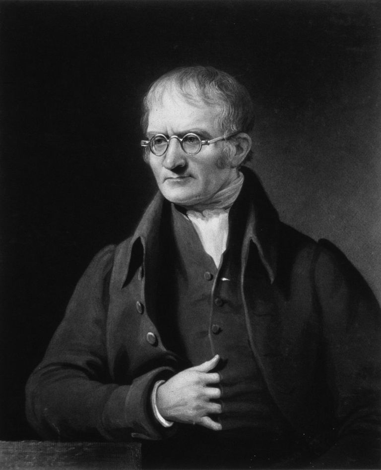 John Dalton - British physicist and chemist.