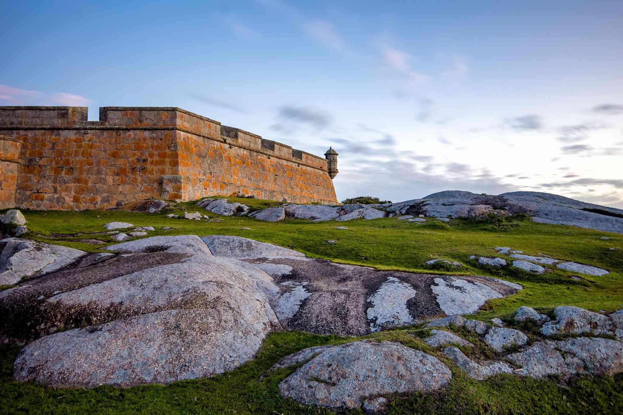 Santa Teresa Fort in Uruguay