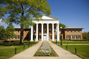 The Lyceum on the University of Mississippi campus