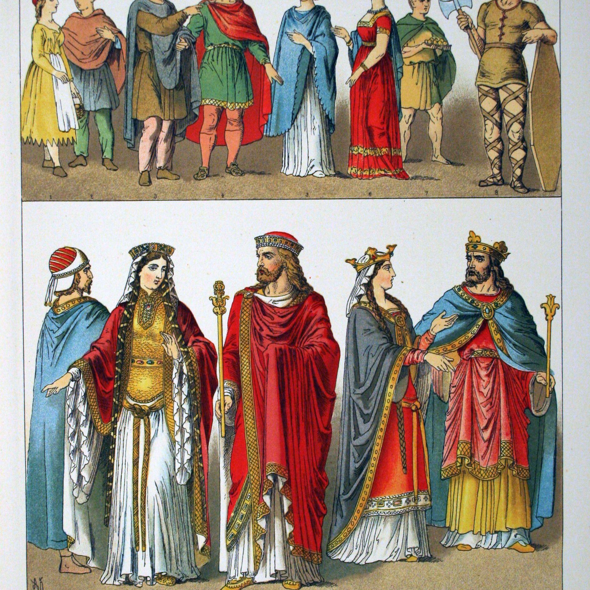 Franks, dress and costume