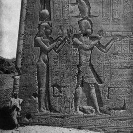 Khắc hình Ai Cập của Cleopatra