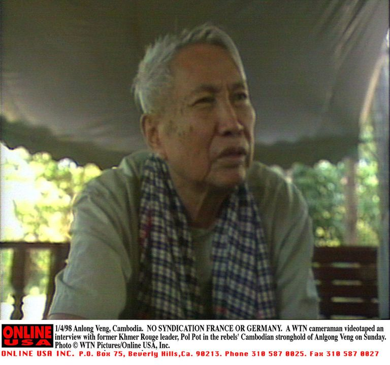 Pol Pot oversaw the genocide of some 2 million Cambodians, his own people.