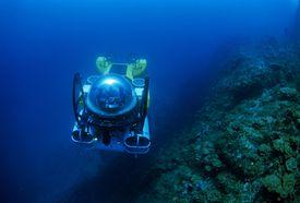 Ocean exploration off the coast of Cocos Island, Costa Rica.