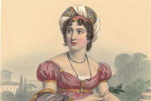 Portrait of Madame de Stael