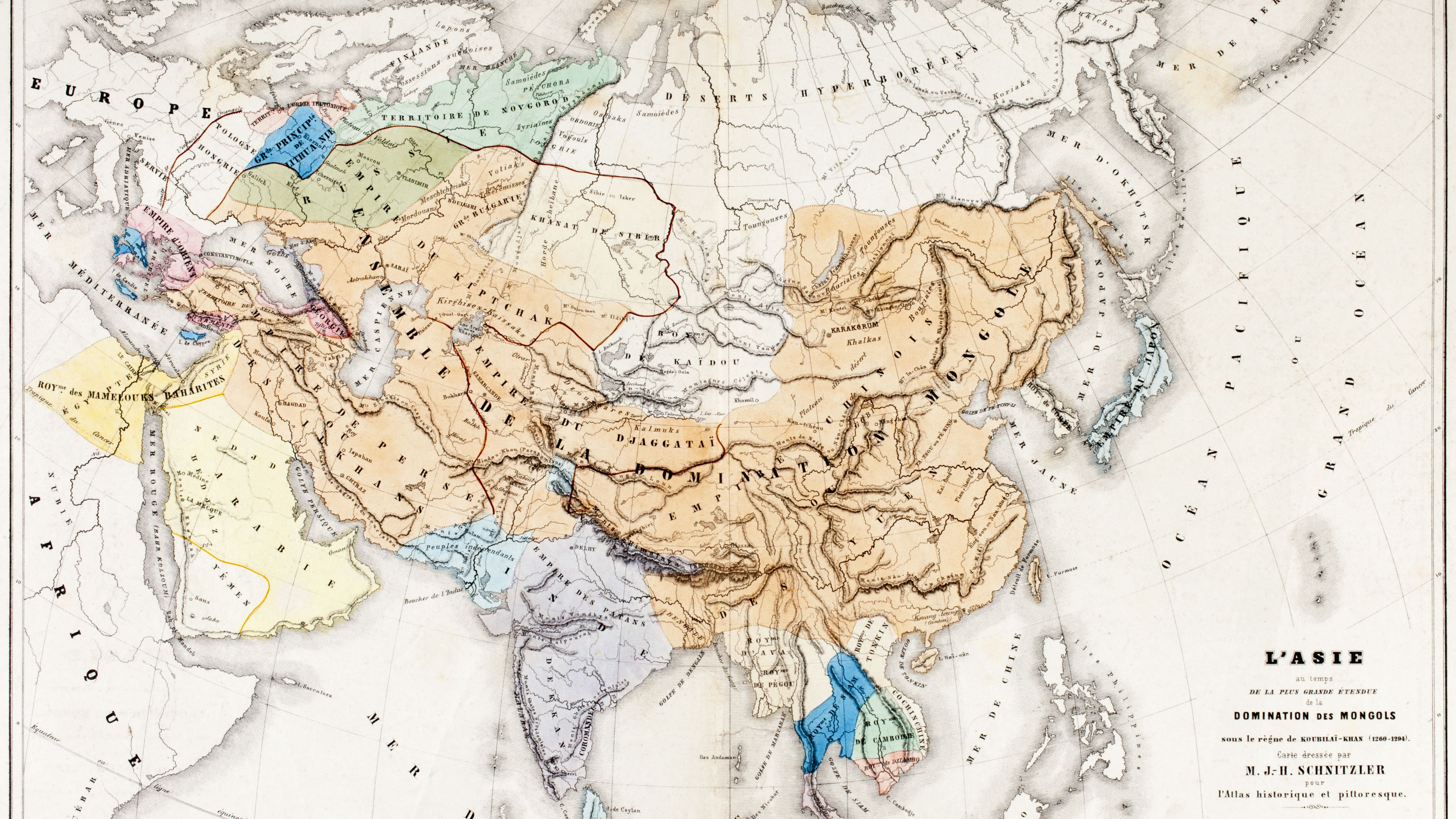 Genghis Khan and the Mongol Empire on