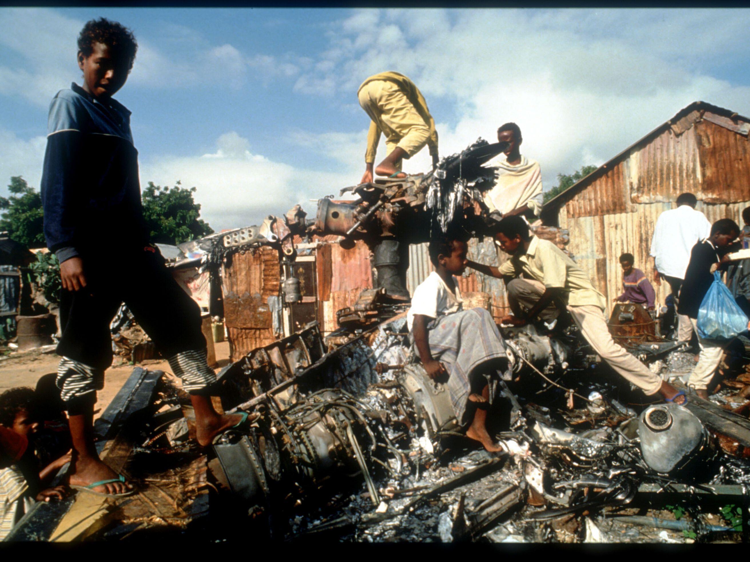 The 1993 Battle of Mogadishu, Somalia