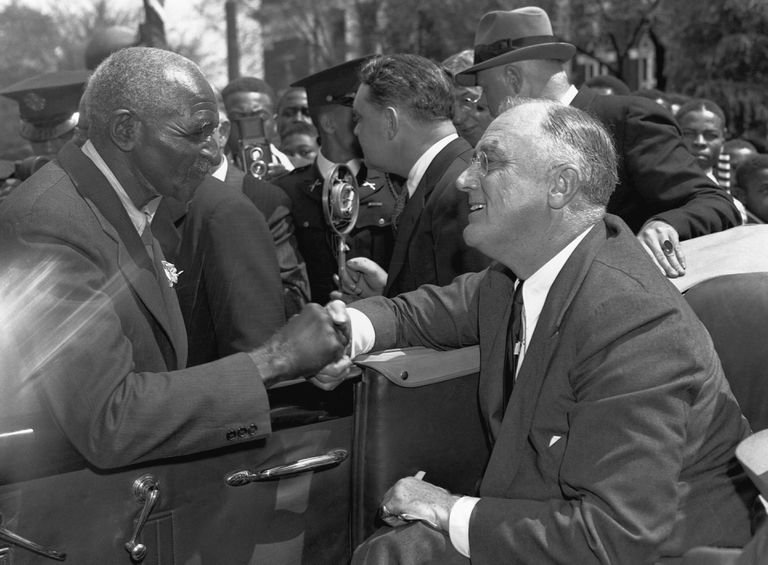 President Roosevelt and George Washington Carver