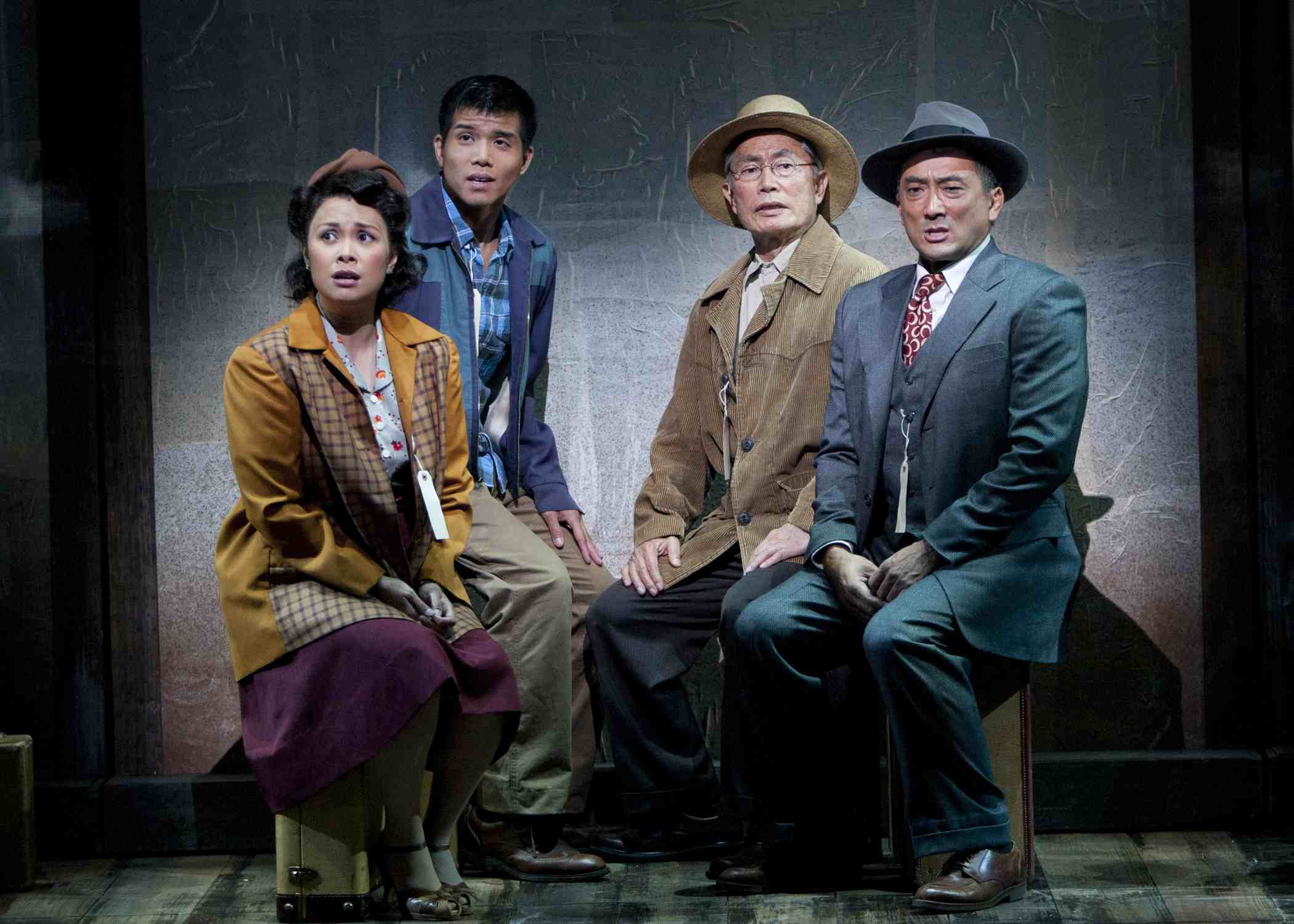 """The musical """"Allegiance"""" at the Old Globe Theatre."""