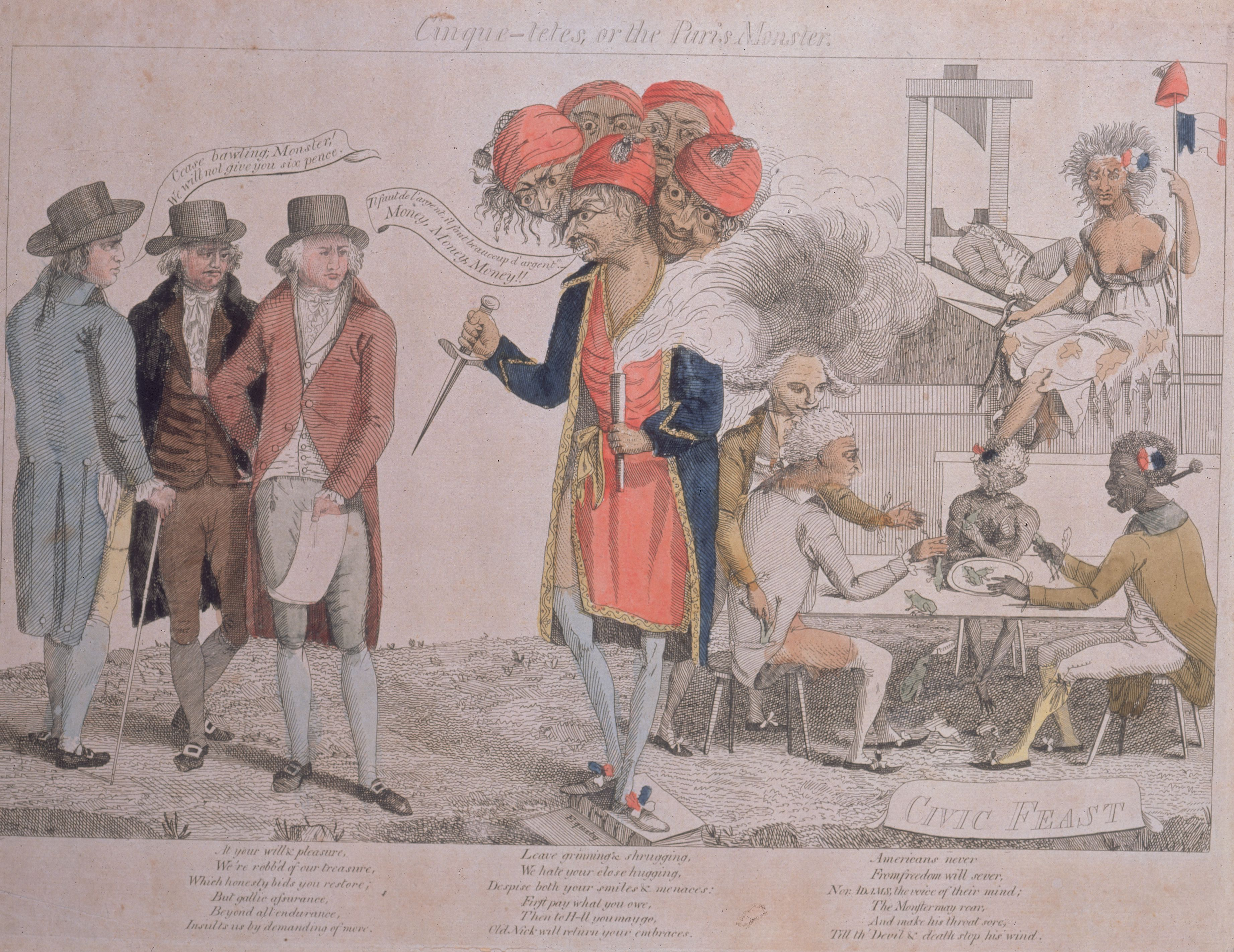 The XYZ Affair: Dispute Between France and the U.S.