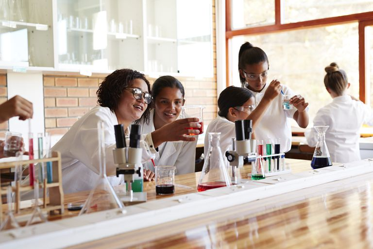 Learning chemistry is a matter of believing you can do it and practicing problems.