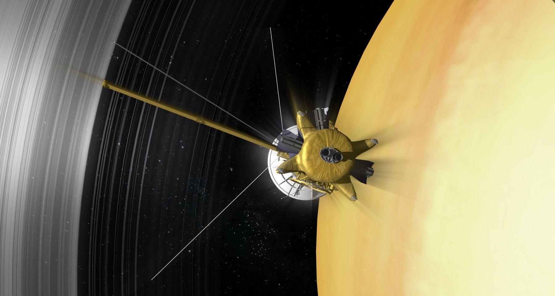 Cassini mission to saturn