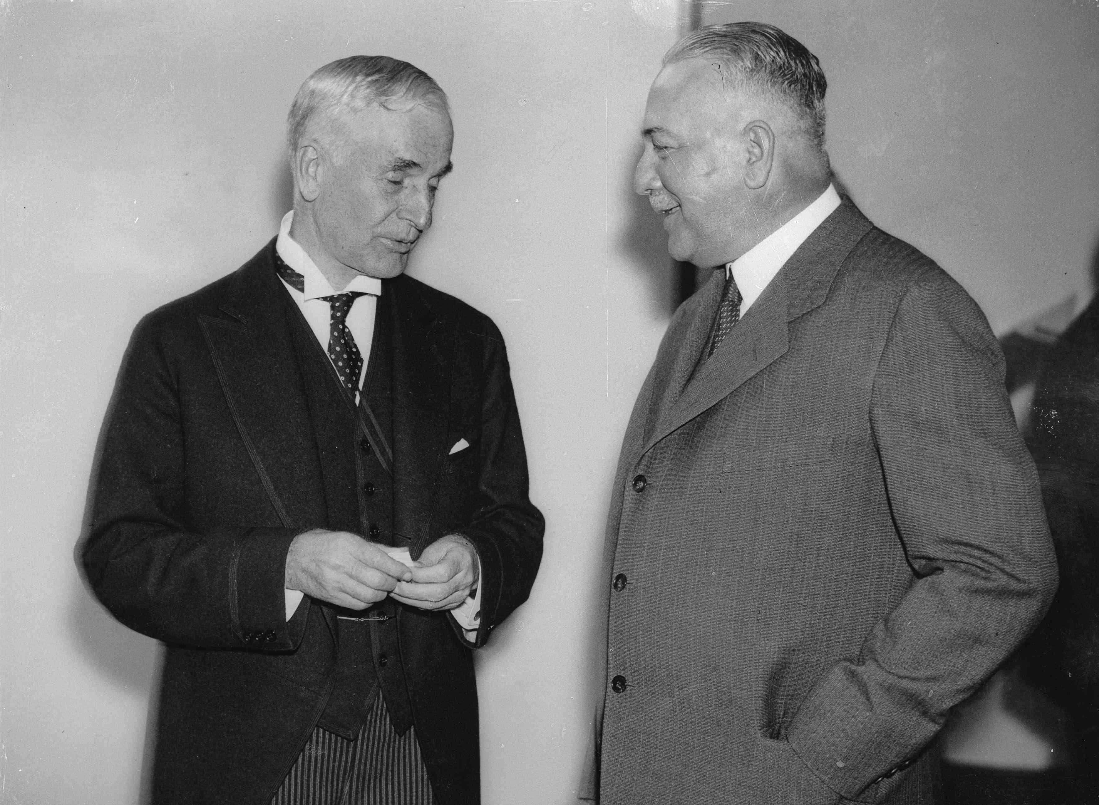 Cordell Hull und Konstantin von Neurath