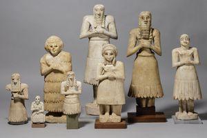 The Asmar Statues, ca 2900-2500 BCE
