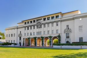 Beckman Institute on the campus of the California Institute of Technology