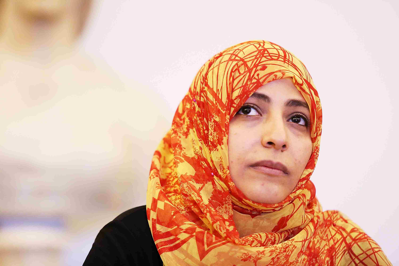 Tawwakul Karman of Yemen, Nobel Laureate