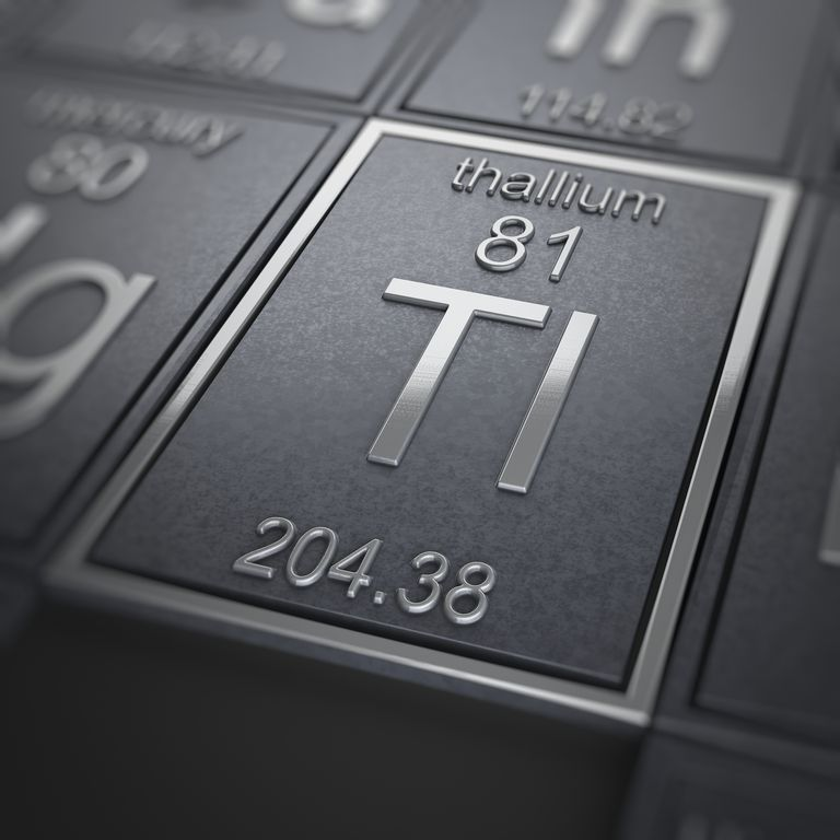 Thallium Facts Periodic Table Of The Elements
