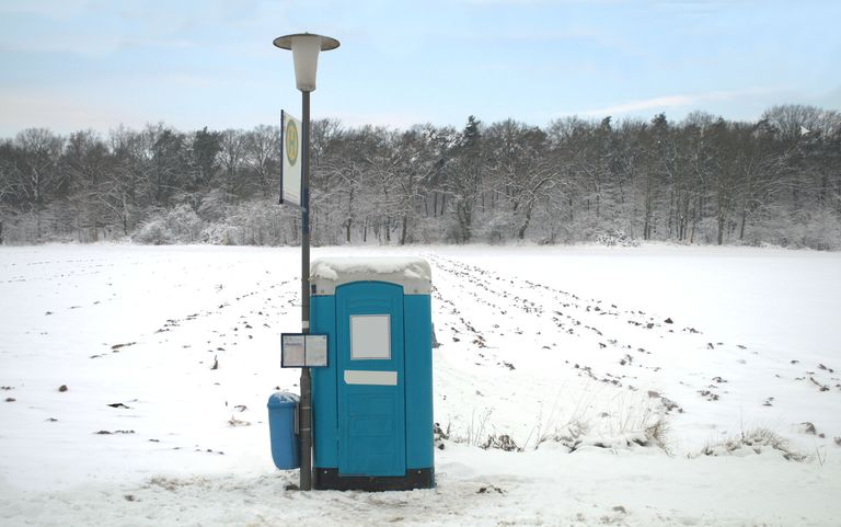 You're more likely to need that outdoor toilet when it's cold outside than when it's warm.