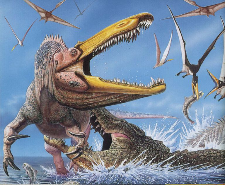Image result for dinosaur drowning