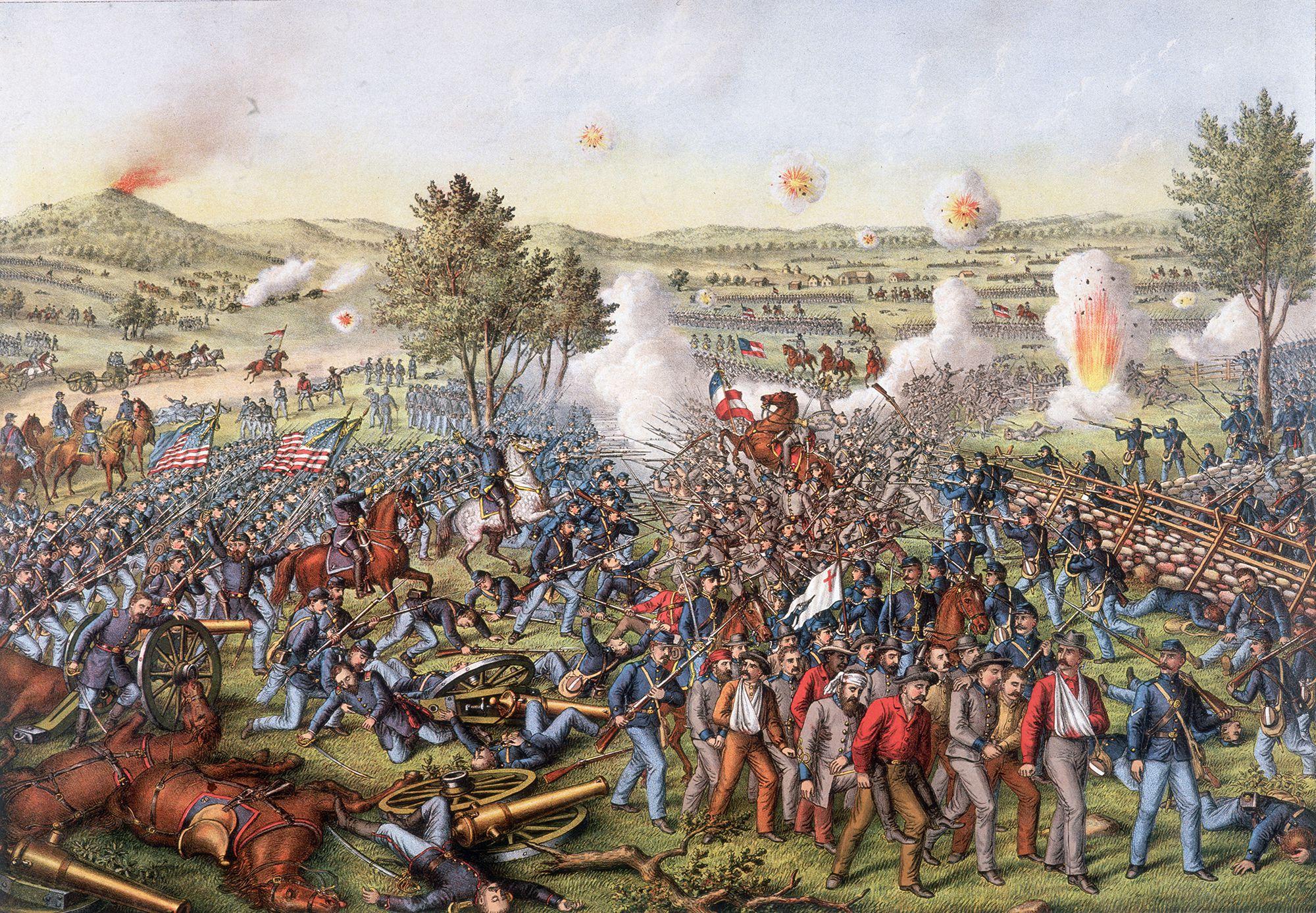 The 10 Deadliest Battles of the Civil War