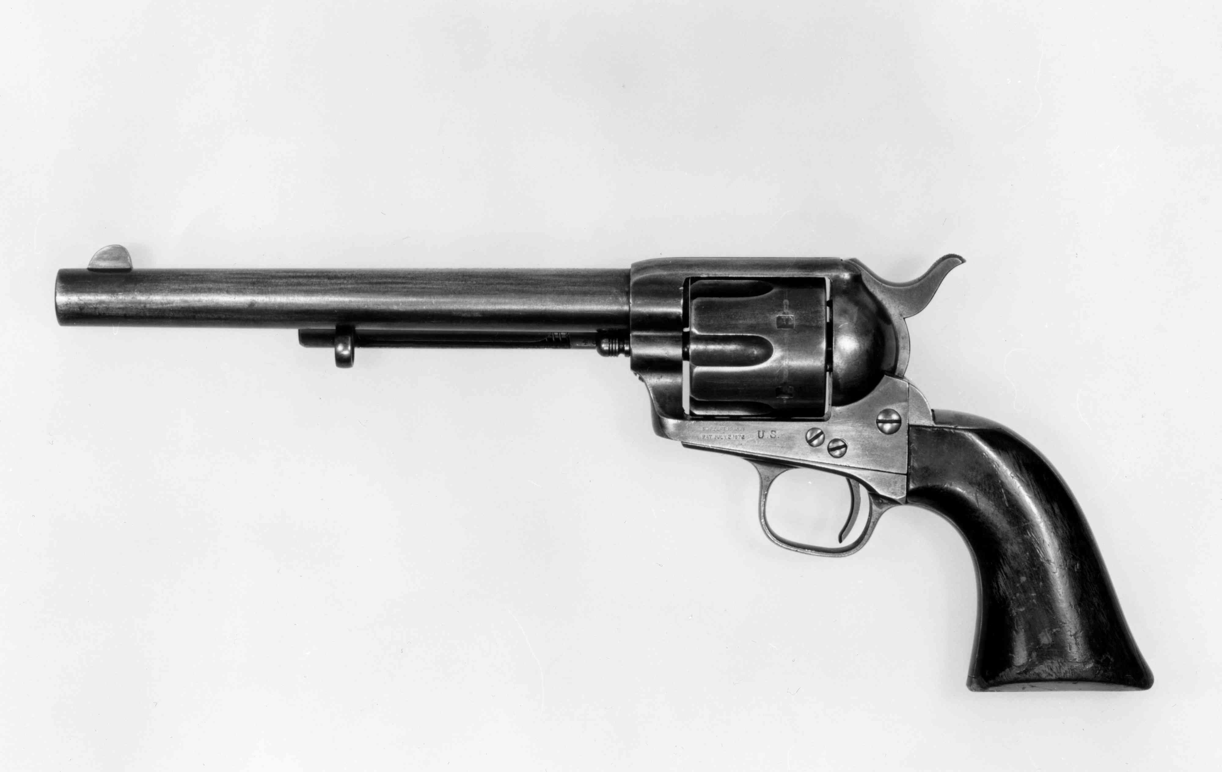 Colt Single-Action Army Revolver, the iconic