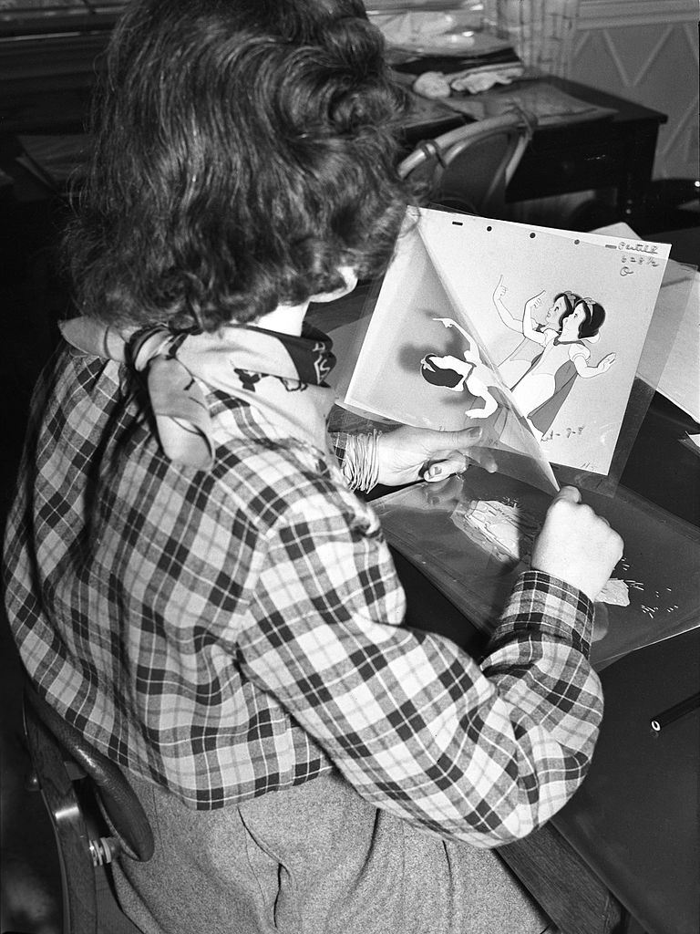 Snow White Animator at Work