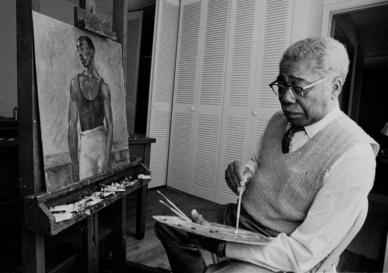 Life and Work of Aaron Douglas, Harlem Renaissance Painter and Leader