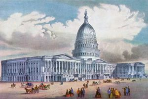 drawing of the U.S. Capitol