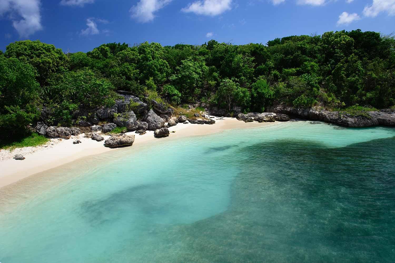 Tropical Beach, Antigua, Antigua & Barbuda