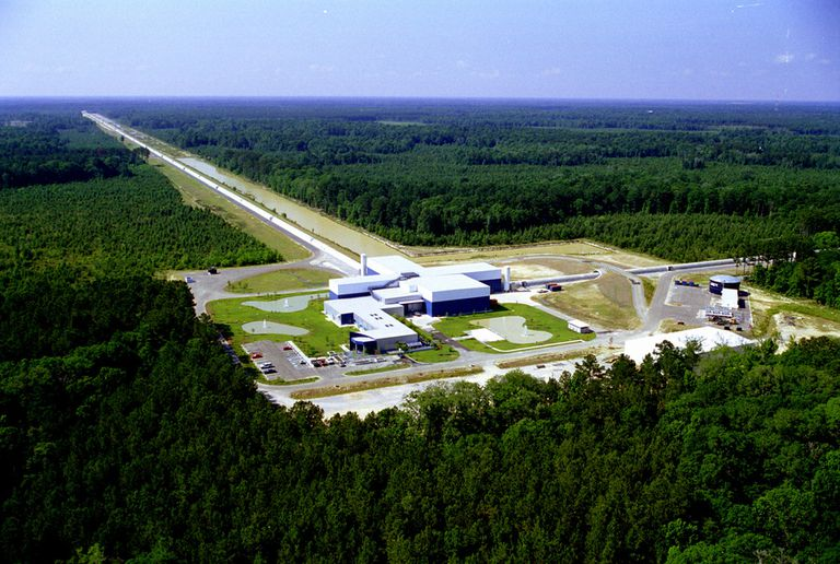 Aerial image of a research facility.