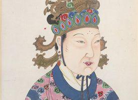 Painting of Empress Wu Zetian of China