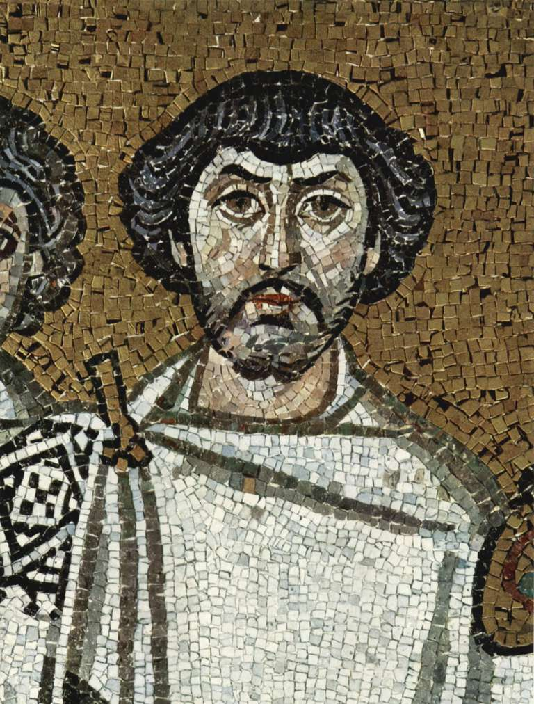 Mosaic of General Belisarius