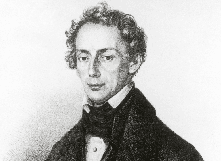 Portrait of Christian Doppler (1830)