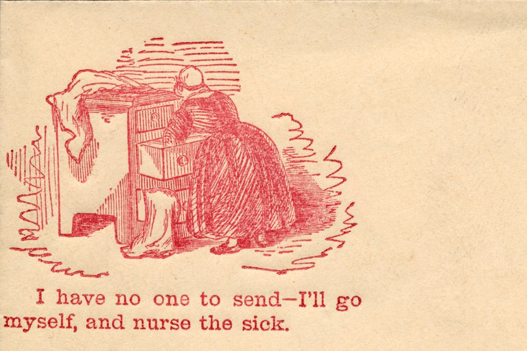 From a Civil War Era Envelope
