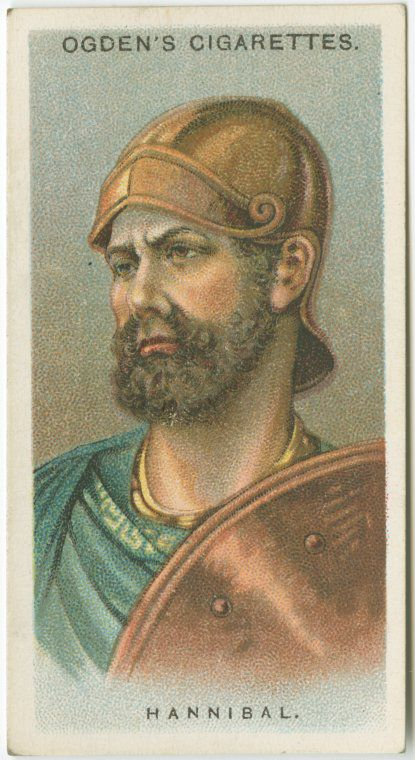 Collector's card of Hannibal the General