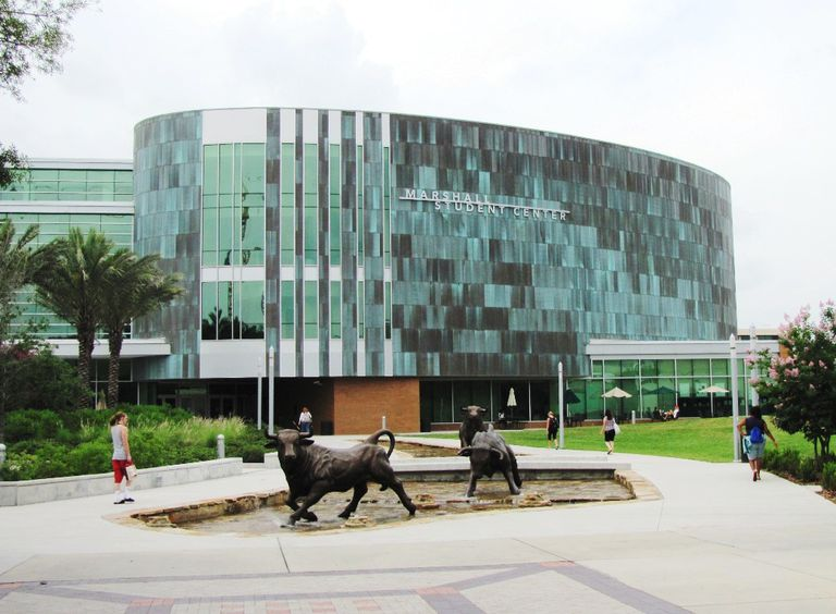Marshall Student Center at the University of South Florida