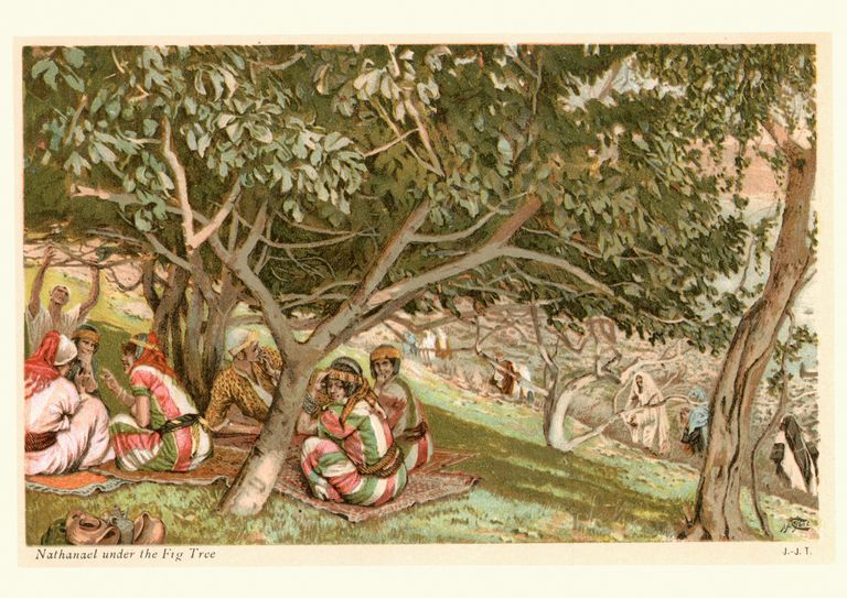 Nathanael under the Fig Tree