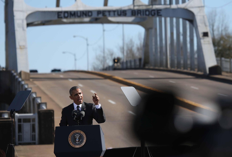 President Barack Obama remembering Bloody Sunday in Selma.