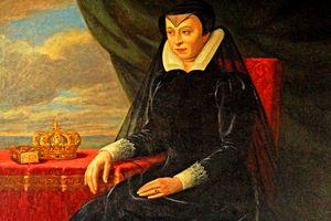 Color portrait of Catherine de Medici.