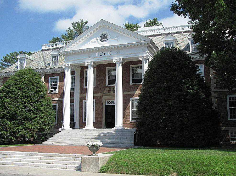 Tuck Hall at Dartmouth College