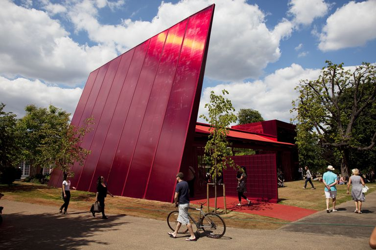 The Serpentine Gallery Pavilion is designed by world-renowned French architect Jean Nouvel