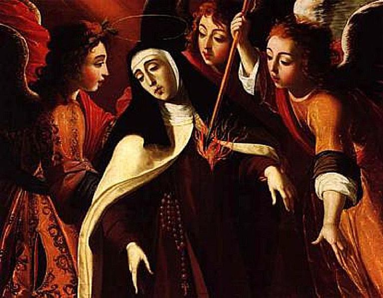 Saint Teresa of Avila angel heart