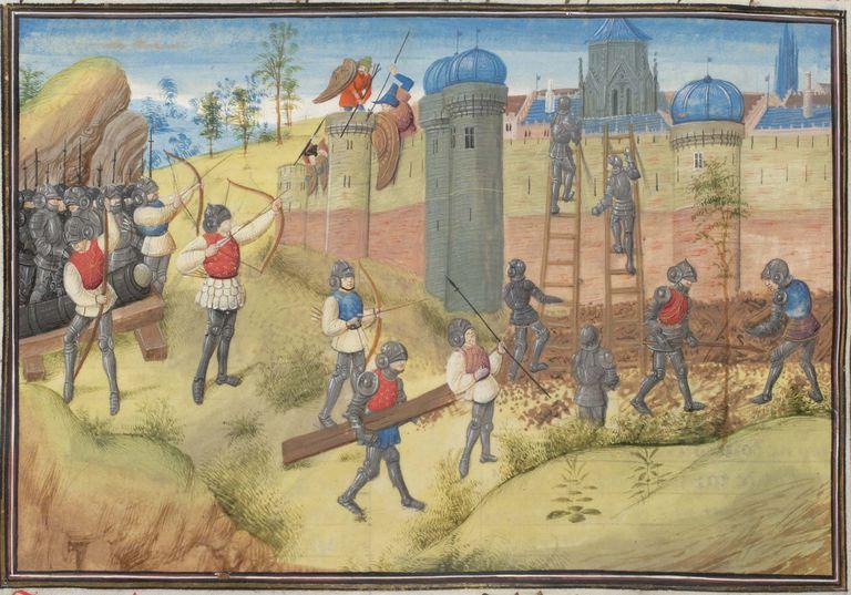 The Seige of Jerusalem, Crusades