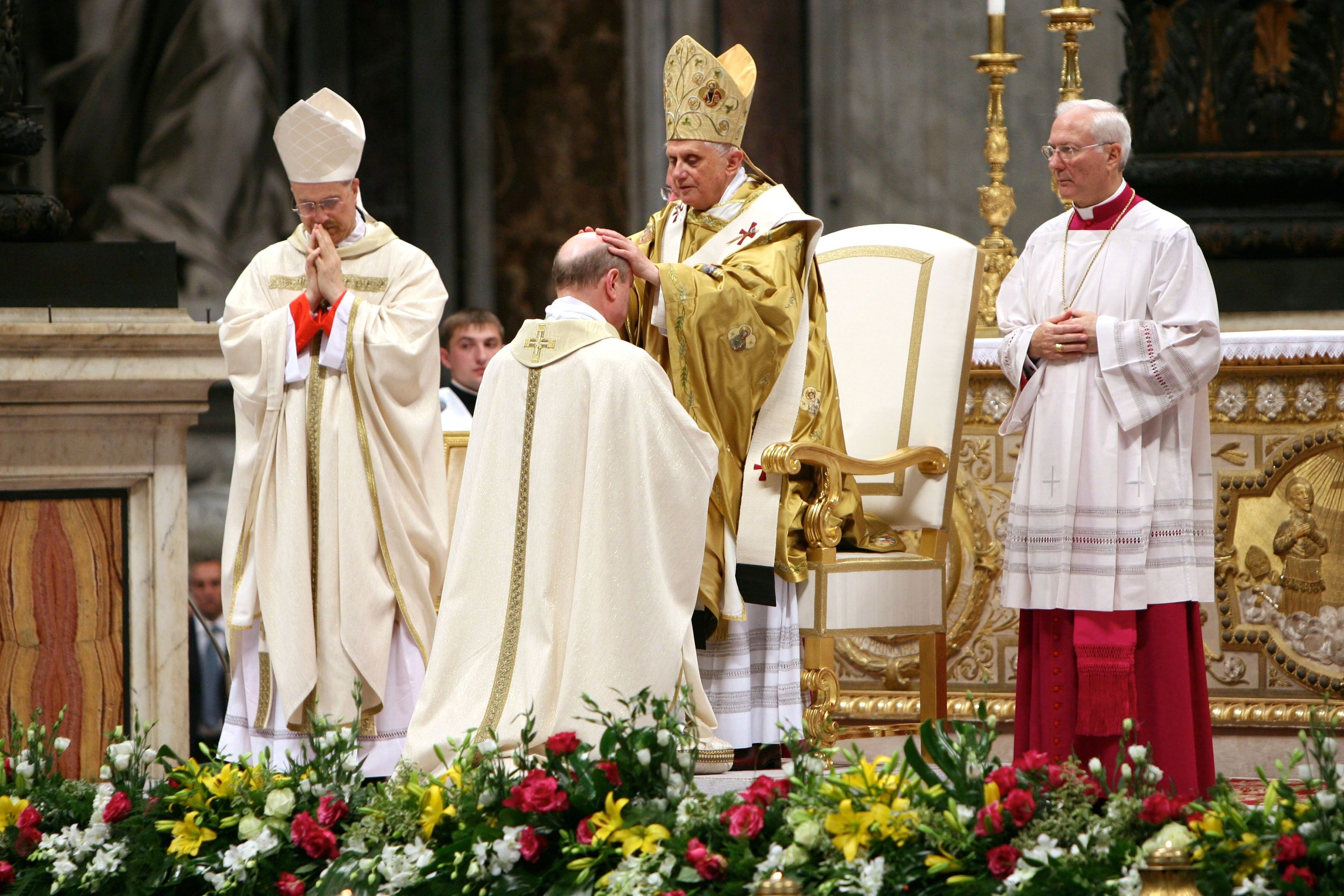 The Sacrament Of Holy Orders In The Catholic Church